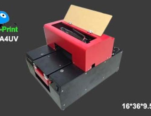 Digital A4 Size Small Format LED UV flatbed inkjet printer