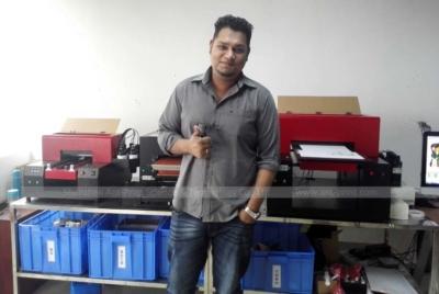 Ant-Print customers Mr. Sayed Zaman