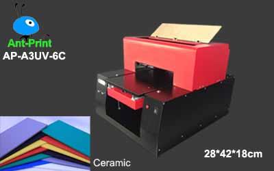 UV flatbed abs printer