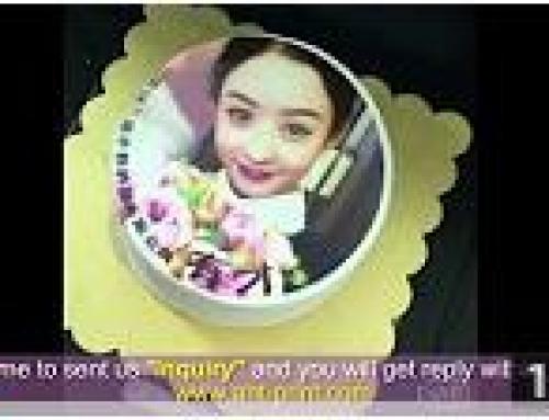 Cake Printing Video