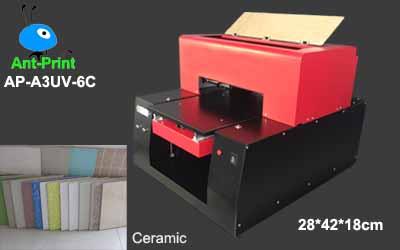 LED UV ceramic printer