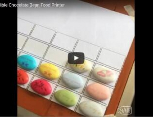 Chocolate Bean Printing Video