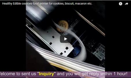 cookies food printer video