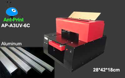 digital UV flatbed aluminum printer