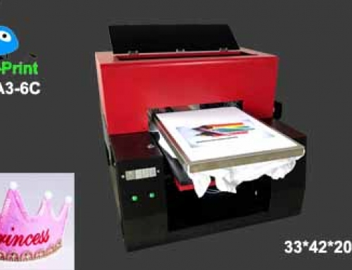 Textile hat printer for printing photo on hat