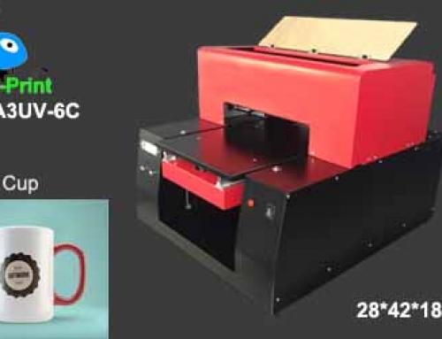Mug cup UV printer, UV flatbed cylinder printer