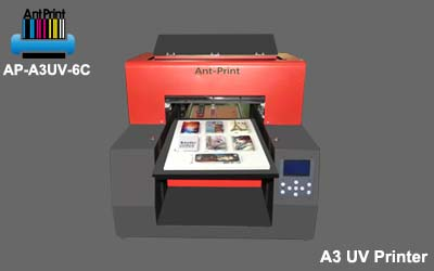 new AP-A3UV-6c uv flatbed printer