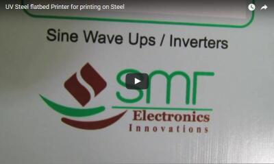steel printing video