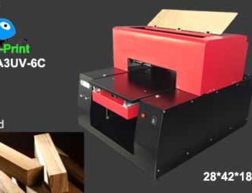 UV Flatbed printer printing photo on wood directly