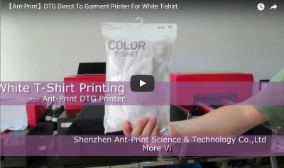 Ant-Print dtg printer