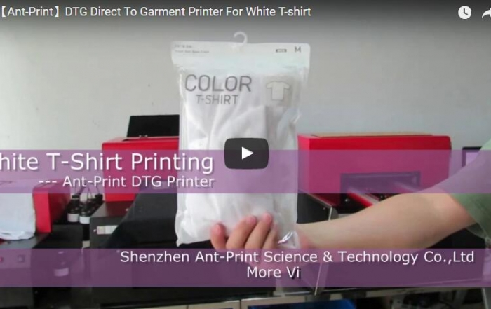 Ant-Print dtg printer