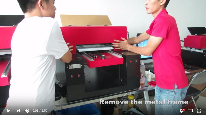 change the ciss for the UV printer
