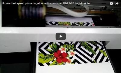 8 color t-shirt printer