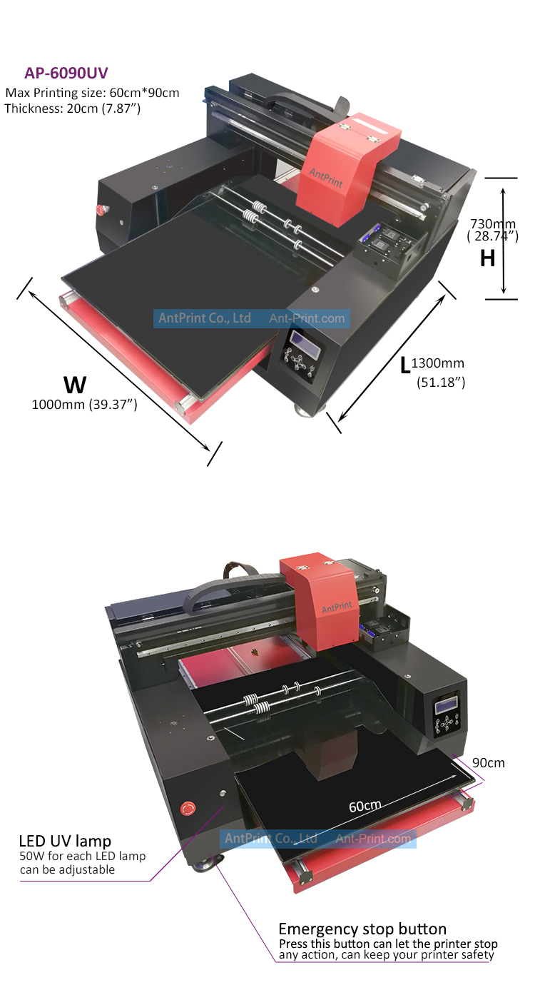 AntPrint AP-6090UV big format UV printer (3)