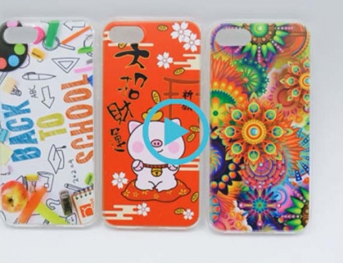 How to DIY your phone case ? The whole phone case printing process video