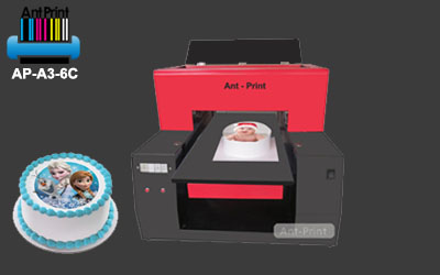 Digital cake photo printer