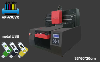 Flatbed metal aluminum Steel UV printer