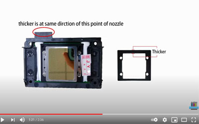 how to replace printer head antprint