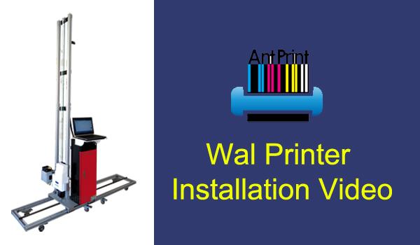 wall printer antprint